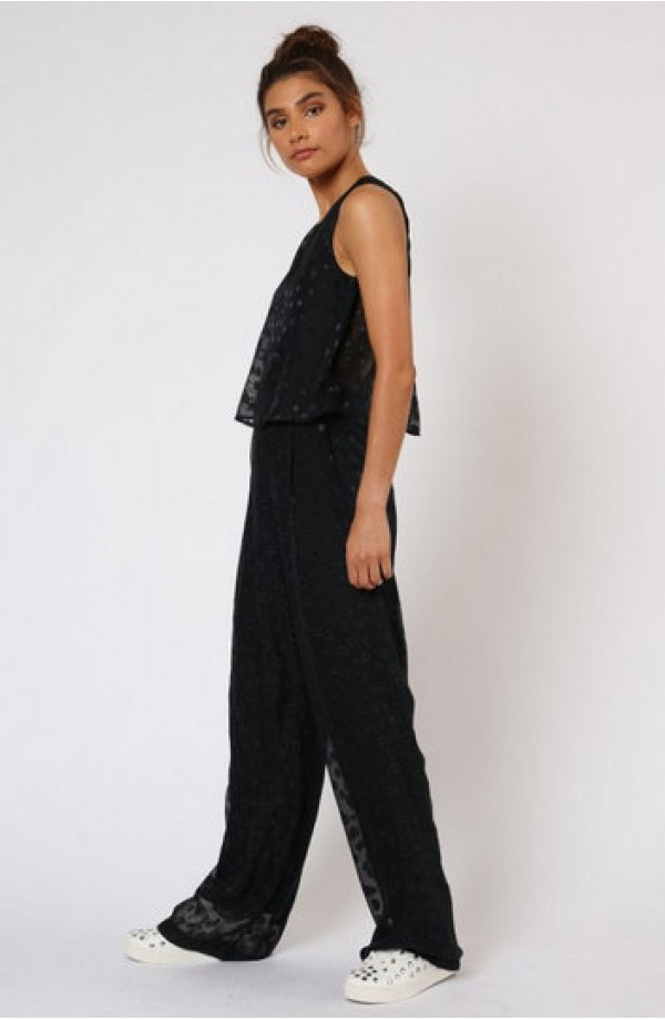 Enchantment Jumpsuit Black